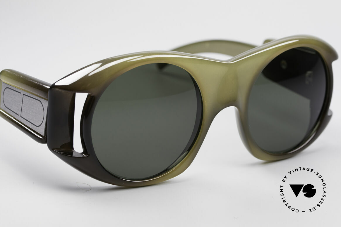 Christian Dior C61 Rare 70's Optyl Sunglasses, true rarity (collector's item & a piece of fashion history), Made for Men and Women