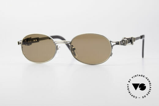 Jean Paul Gaultier 56-0020 Oval Belt Buckle Sunglasses Details