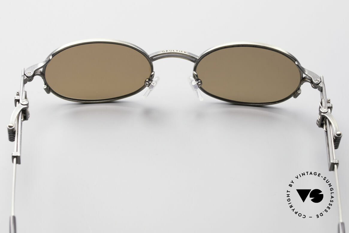 Jean Paul Gaultier 56-0020 Oval Belt Buckle Sunglasses