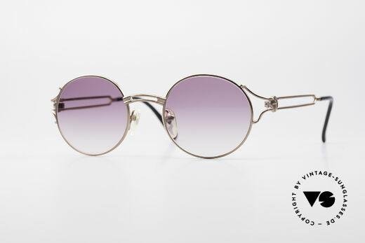 Jean Paul Gaultier 57-6102 Round Designer Sunglasses Details