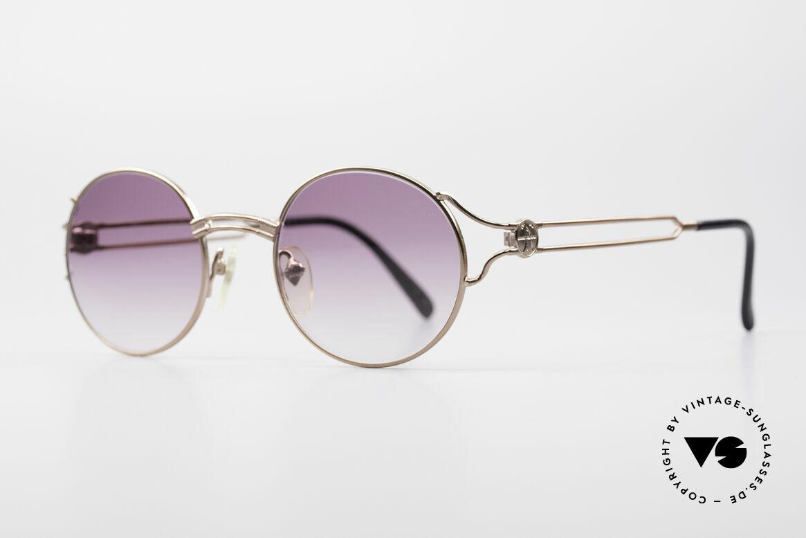 Jean Paul Gaultier 57-6102 Round Designer Sunglasses