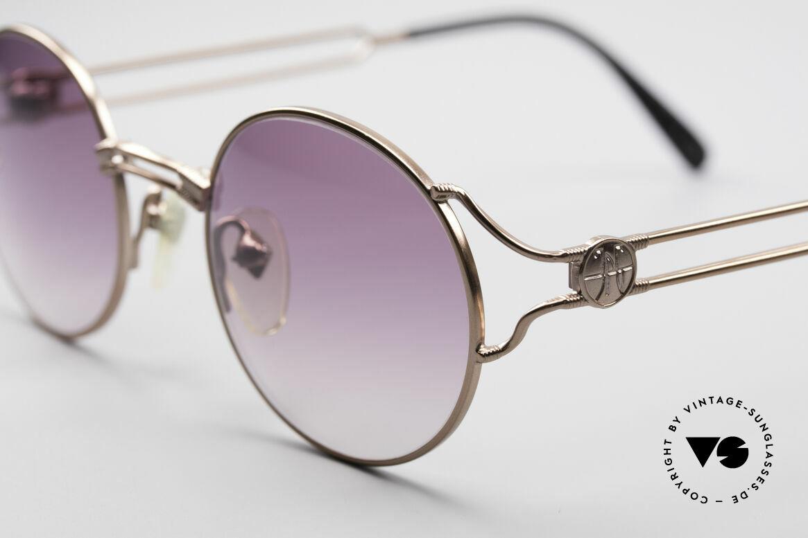 Jean Paul Gaultier 57-6102 Round Designer Sunglasses, unworn (like all our rare vintage 90's designer glasses), Made for Men and Women