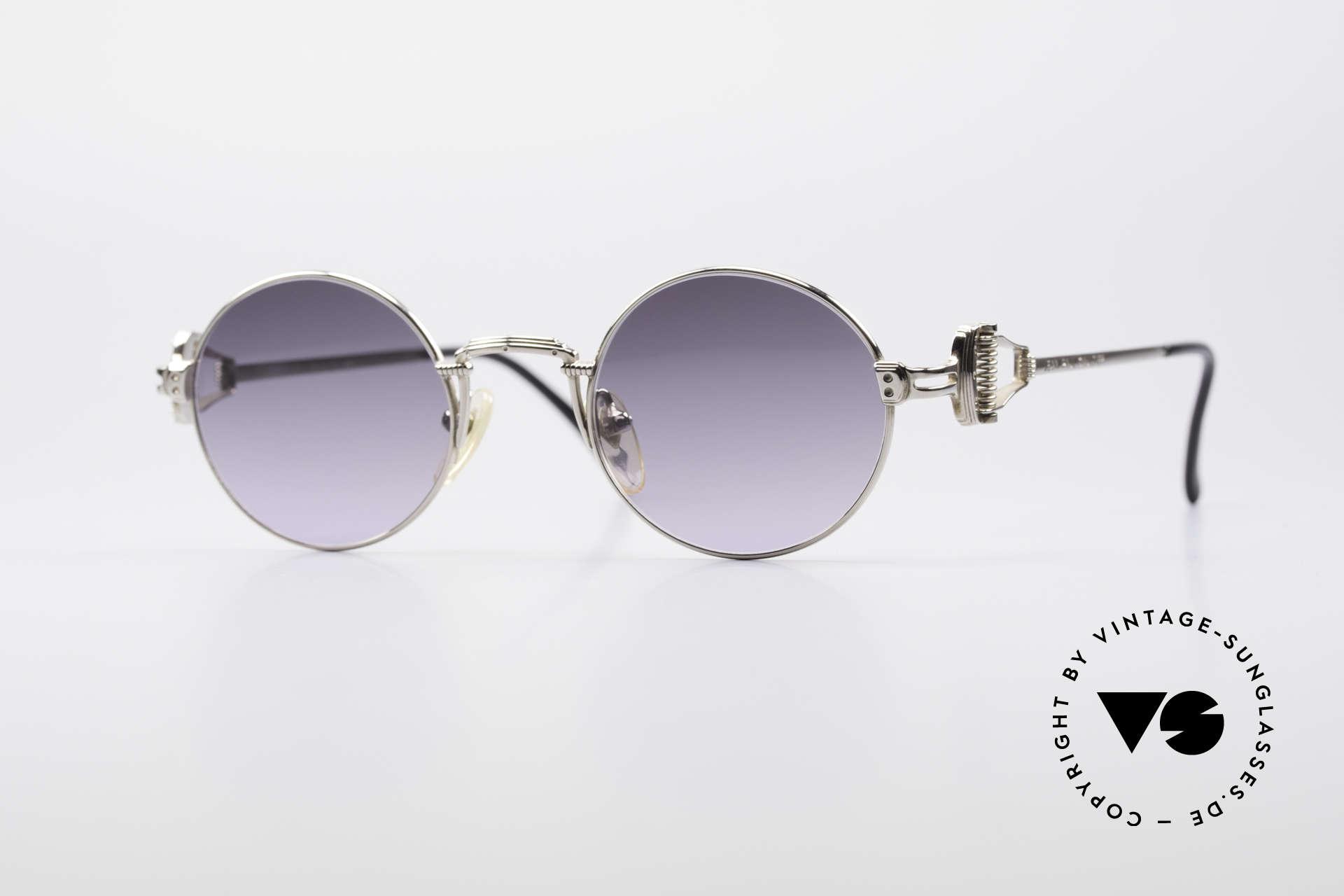 Jean Paul Gaultier 55-5106 Steampunk Sunglasses, precious Jean Paul GAULTIER sunglasses from app. 1994, Made for Men and Women
