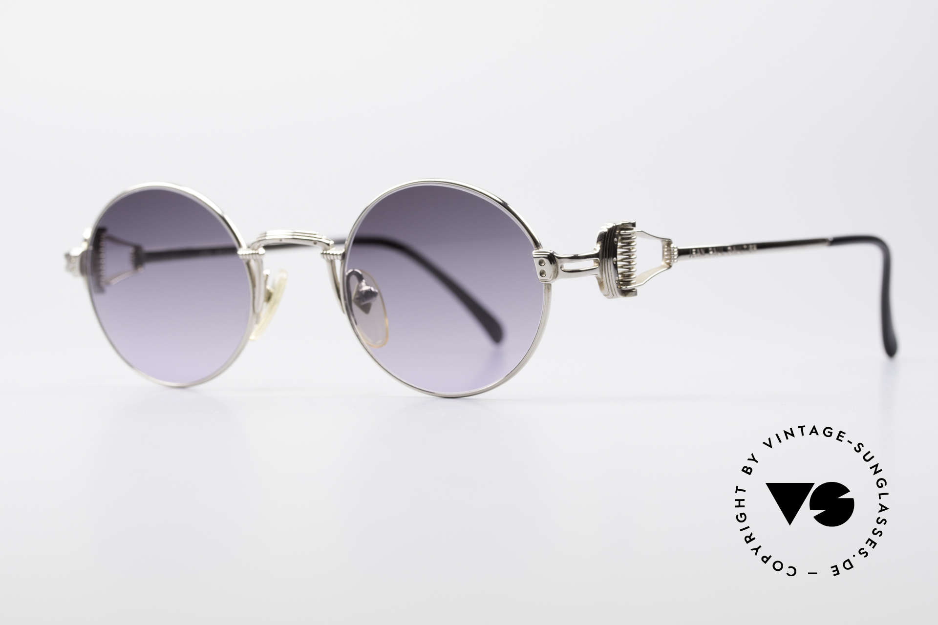 """Jean Paul Gaultier 55-5106 Steampunk Sunglasses, these days, often called as vintage """"steampunk glasses"""", Made for Men and Women"""