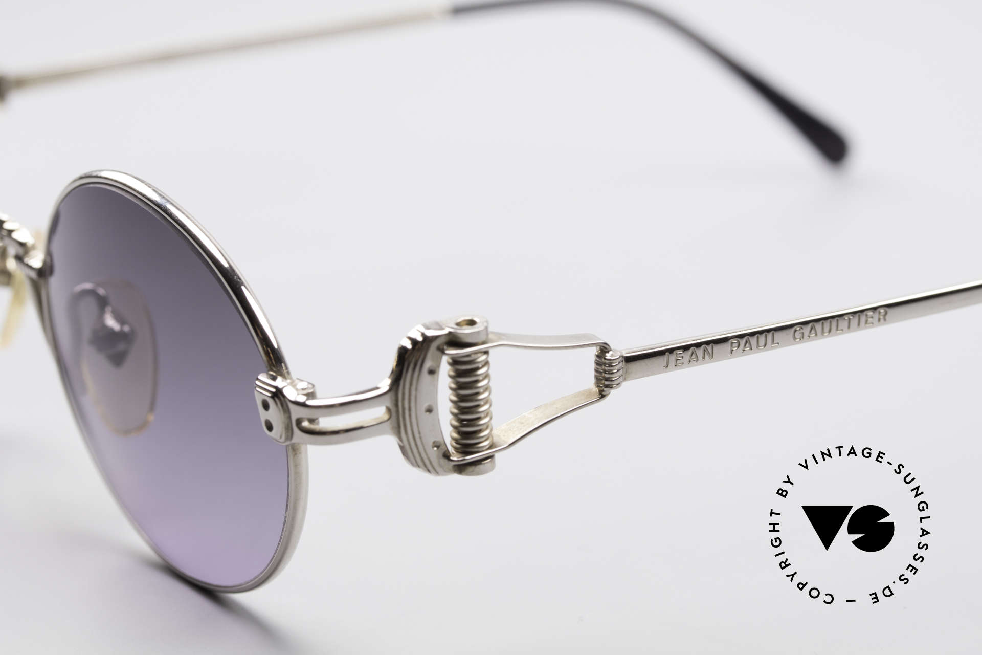 Jean Paul Gaultier 55-5106 Steampunk Sunglasses, unworn (like all our rare old 1990's designer sunglasses), Made for Men and Women