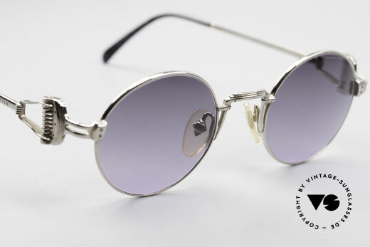 Jean Paul Gaultier 55-5106 Steampunk Sunglasses, NO retro fashion, but a 25 years old rarity; true vintage!, Made for Men and Women