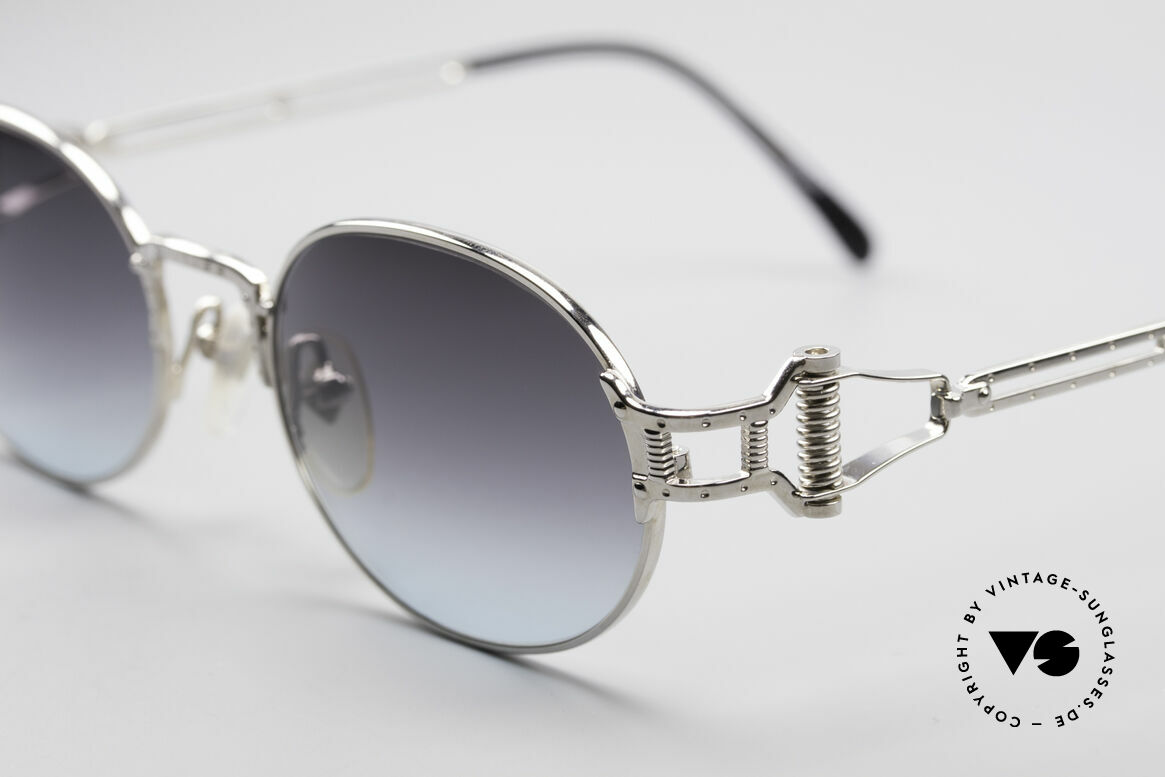 Jean Paul Gaultier 55-5110 Extraordinary Vintage Frame, frame can be glazed with optical lenses optionally, Made for Men and Women
