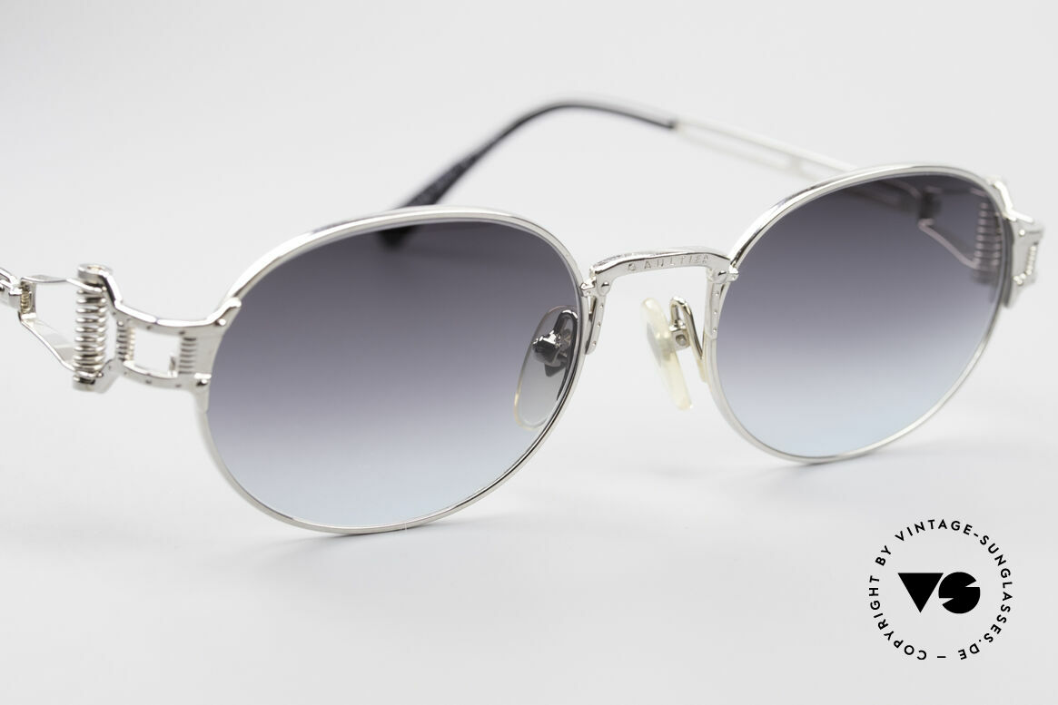 Jean Paul Gaultier 55-5110 Extraordinary Vintage Frame, unworn (like all our old 90's designer sunglasses), Made for Men and Women