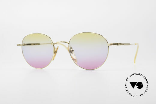 Jean Paul Gaultier 55-1174 Gold Plated Panto Frame Details