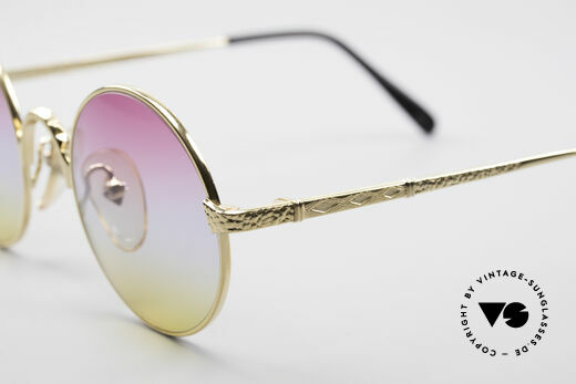 Jean Paul Gaultier 55-9671 Gold Plated Round Frame