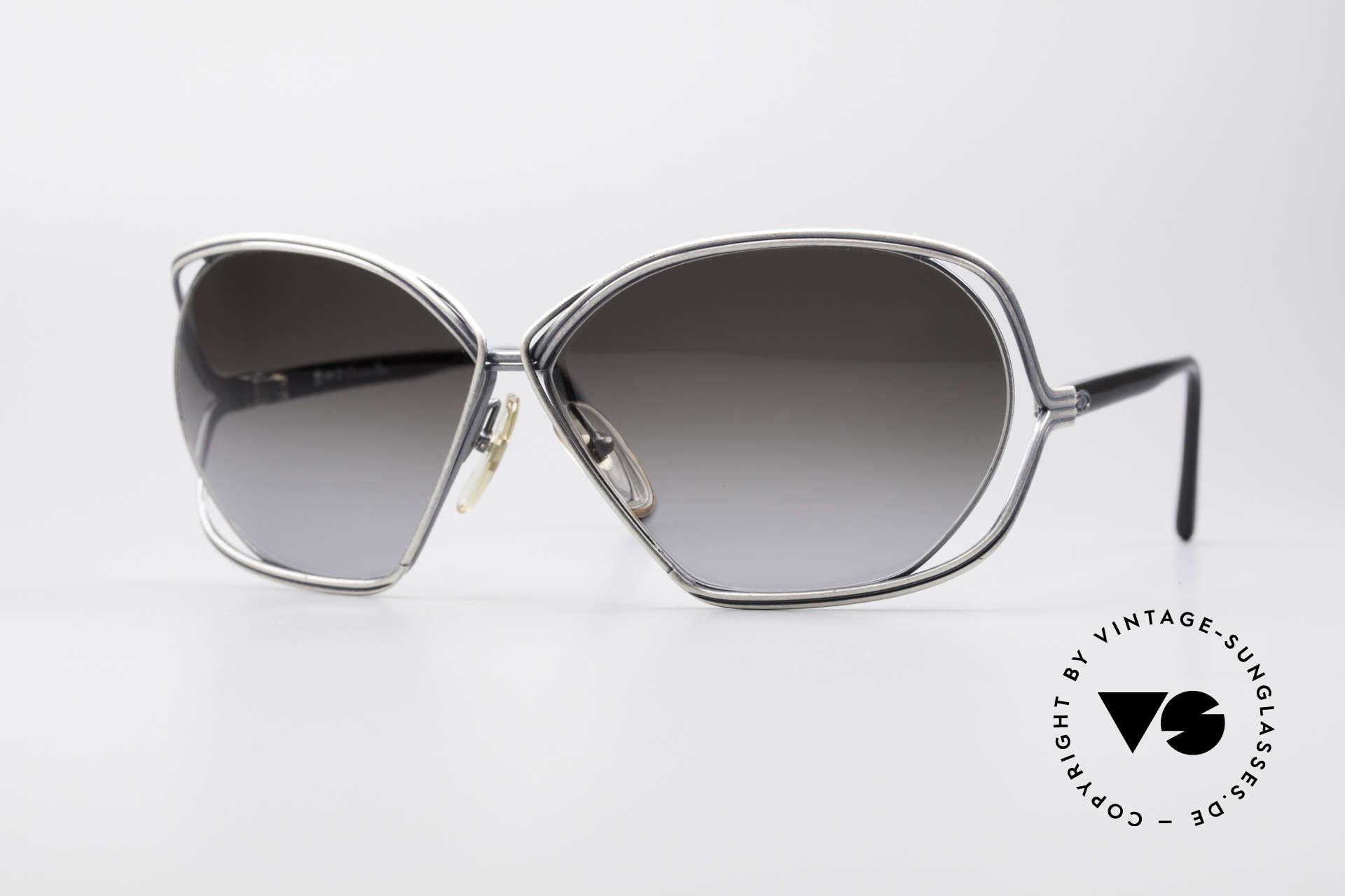 Christian Dior 2499 Ladies Sunglasses 80's, glamorous ladies' designer sunglasses of the 1980's, Made for Women