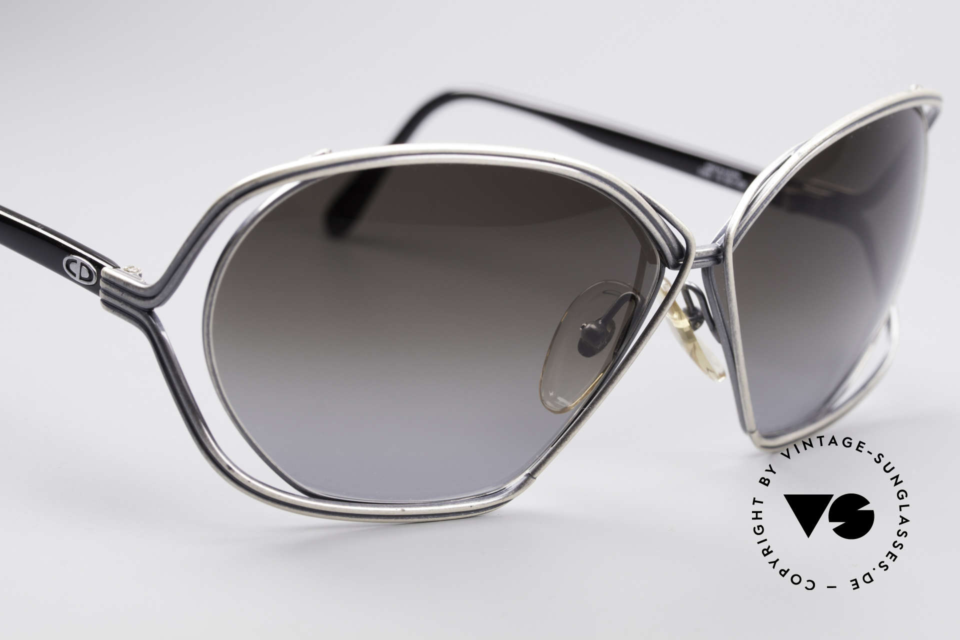 Christian Dior 2499 Ladies Sunglasses 80's, new old stock (like all our rare Chr. Dior sunglasses), Made for Women