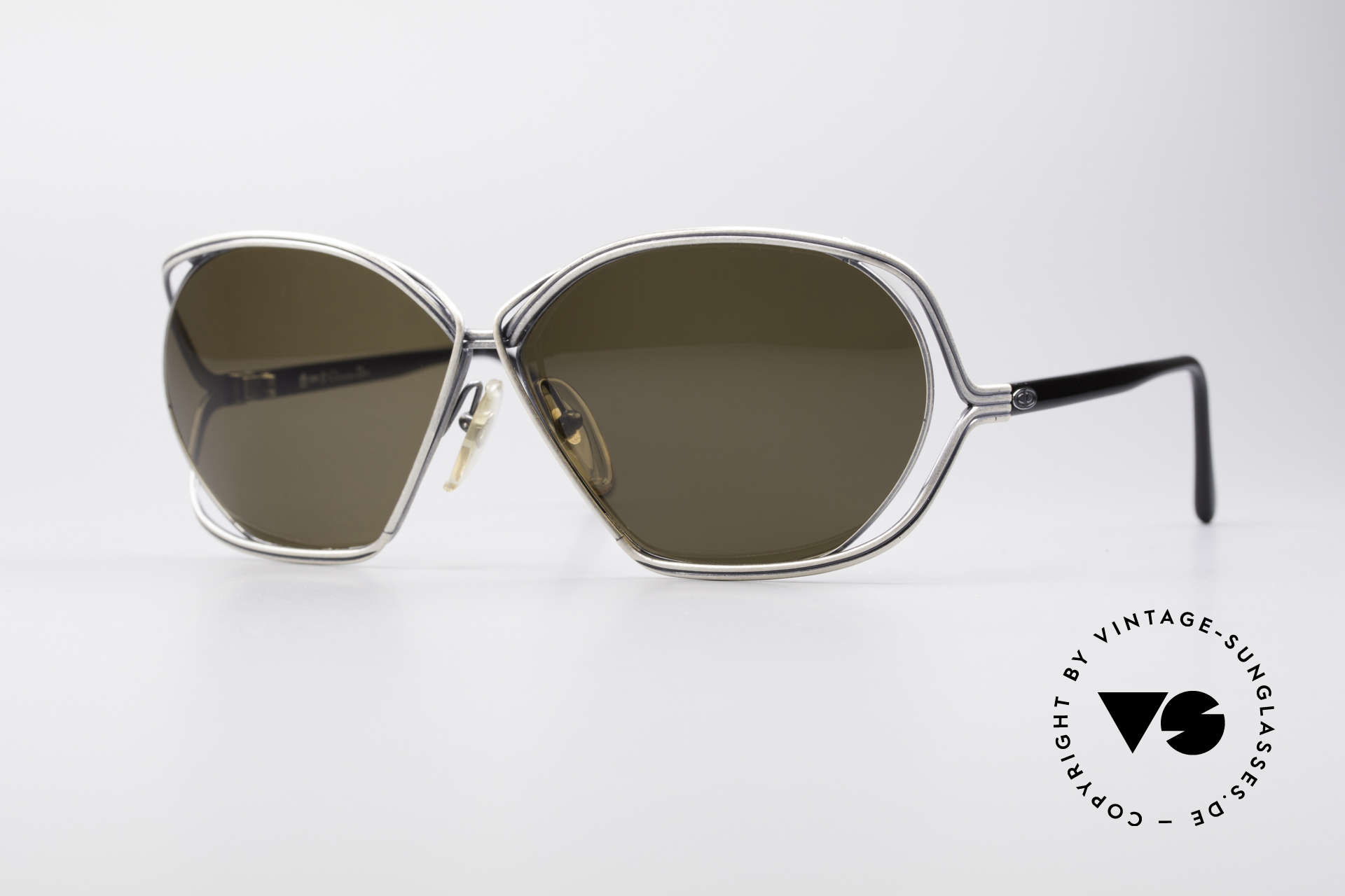 Christian Dior 2499 1980's Ladies Sunglasses, glamorous ladies' designer sunglasses of the 1980's, Made for Women