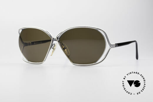 Christian Dior 2499 1980's Ladies Sunglasses Details