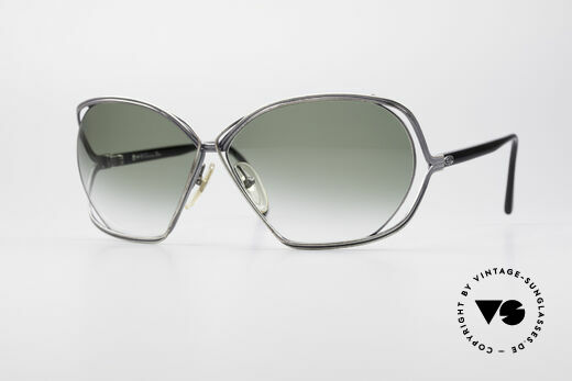 Christian Dior 2499 Ladies XL 80's Sunglasses Details