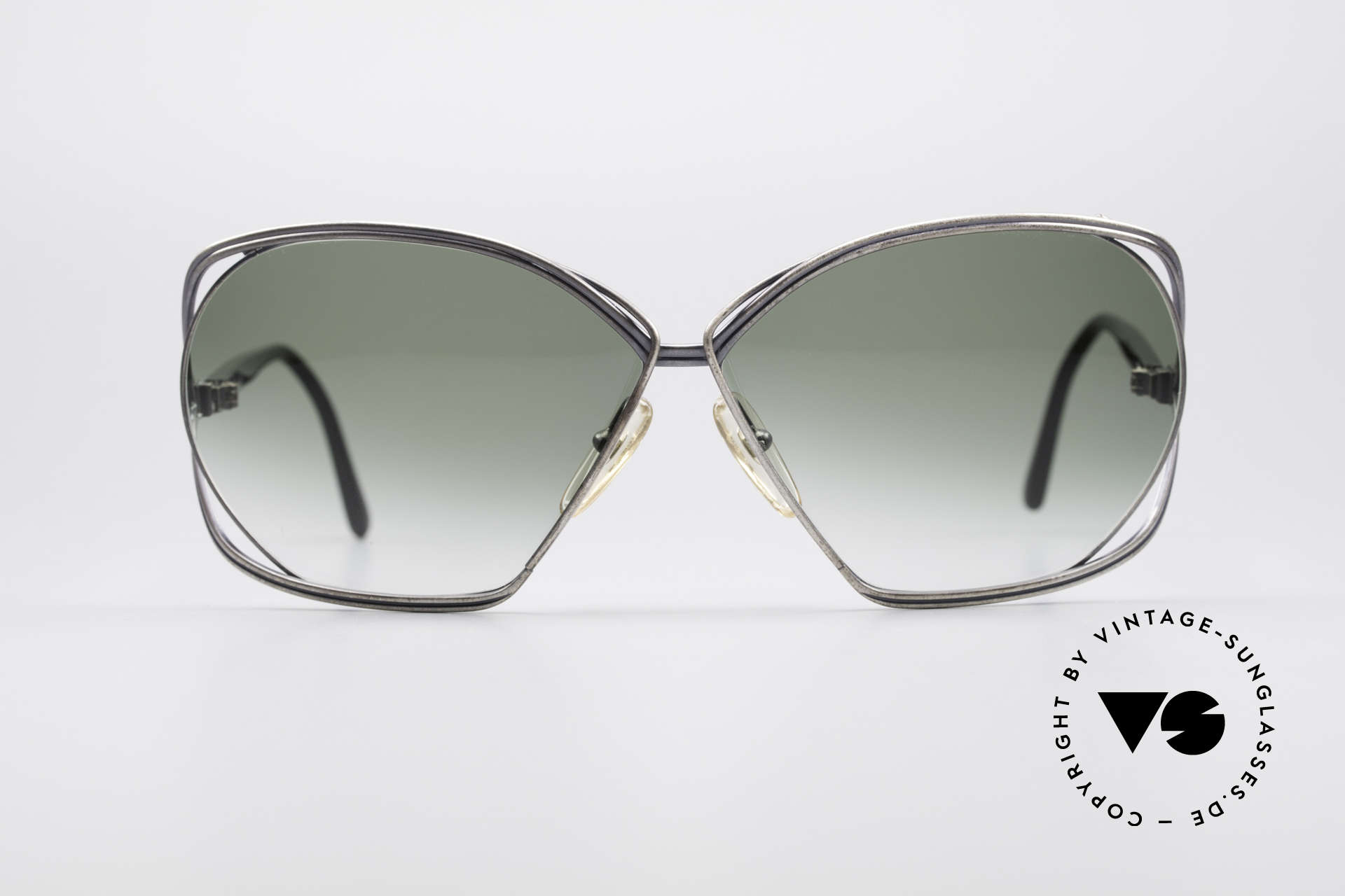 Christian Dior 2499 Ladies XL 80's Sunglasses, legendary XXL 'butterfly-design' by Christian DIOR, Made for Women