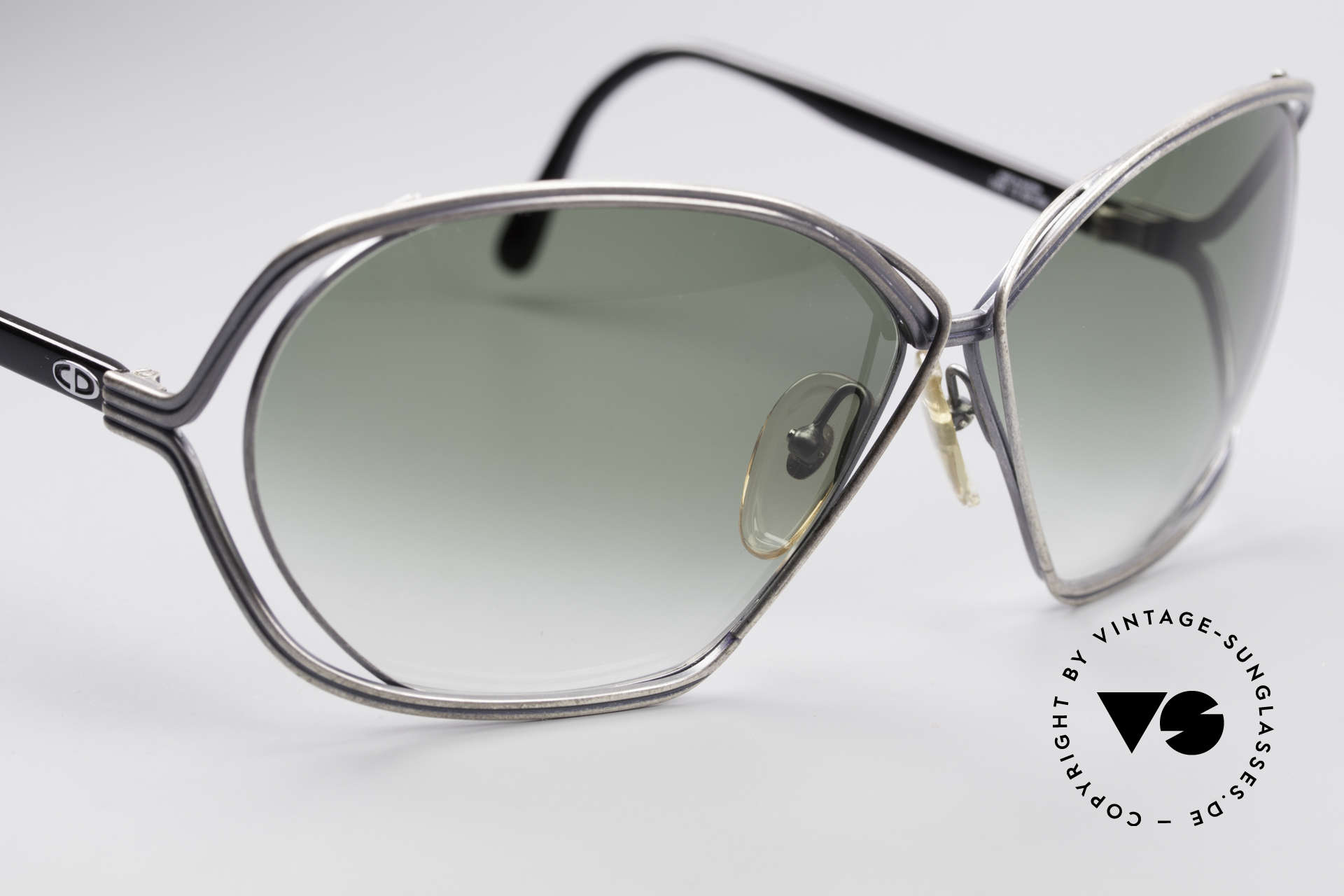 Christian Dior 2499 Ladies XL 80's Sunglasses, new old stock (like all our rare Chr. Dior sunglasses), Made for Women