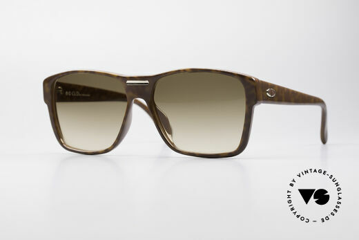 Christian Dior 2386 Monsieur 80's Men's Frame Details