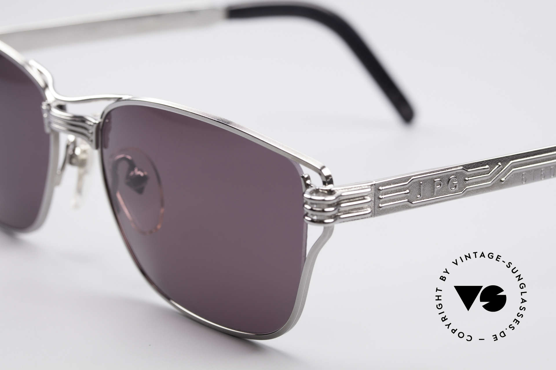 Jean Paul Gaultier 56-4173 Striking Square Sunglasses, tangible, outstanding TOP-quality, made in Japan, Made for Men
