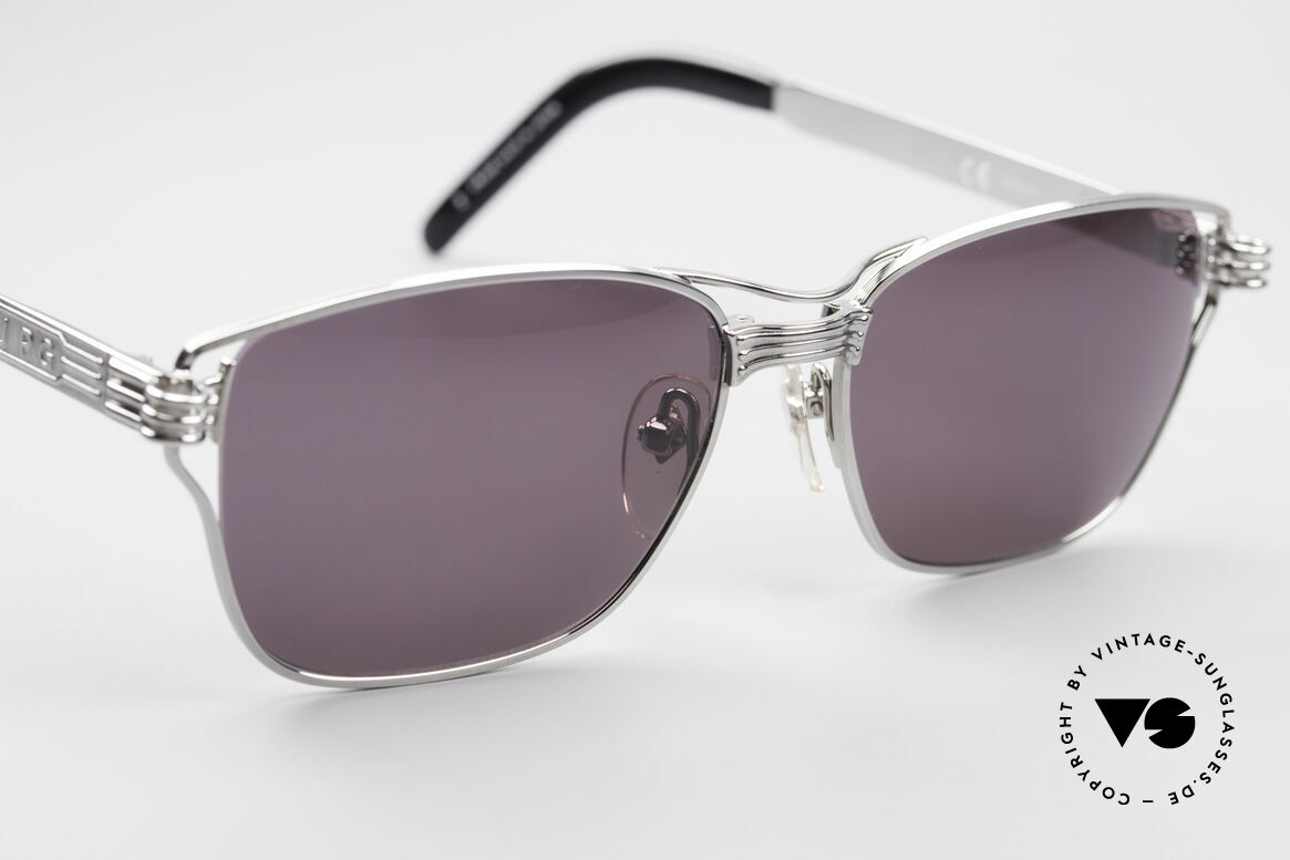 Jean Paul Gaultier 56-4173 Striking Square Sunglasses, unworn (like all our rare old 90's designer shades), Made for Men