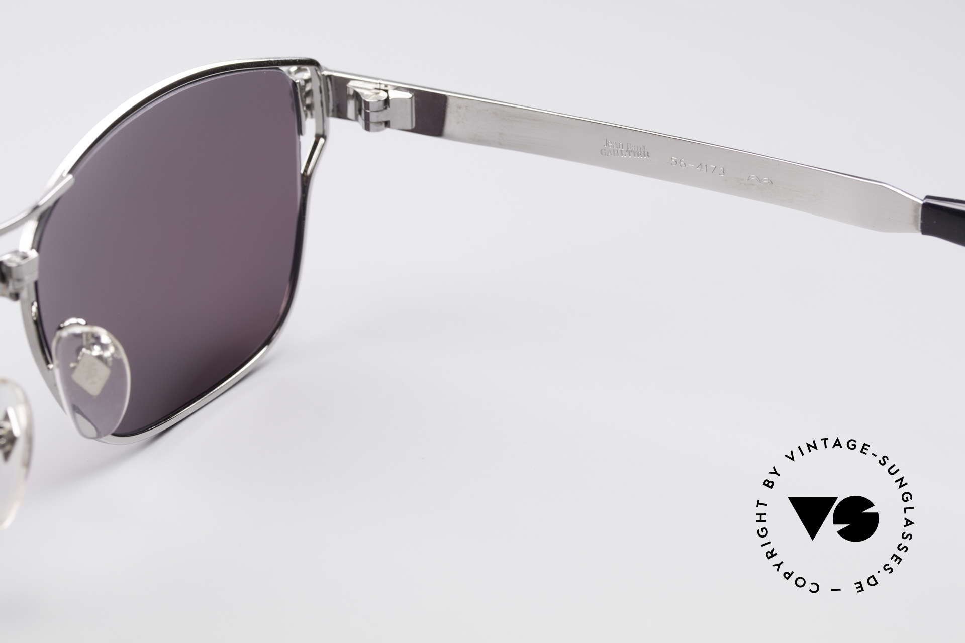Jean Paul Gaultier 56-4173 Striking Square Sunglasses, Size: large, Made for Men