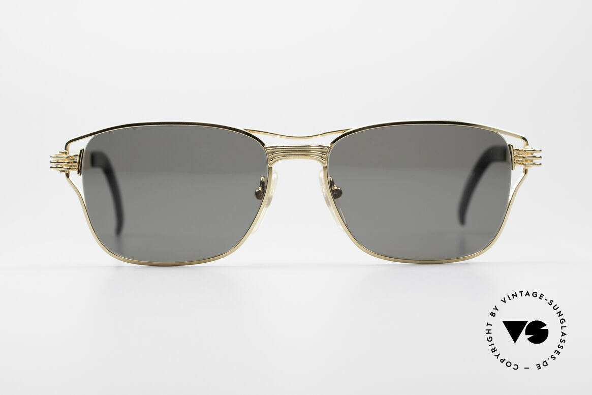 Jean Paul Gaultier 56-4173 Square Designer Sunglasses, mechanical / industrial design (distinctive JPG), Made for Men