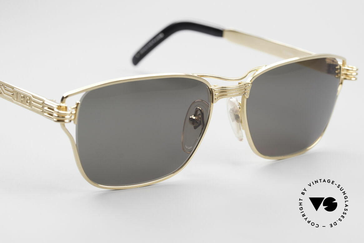 Jean Paul Gaultier 56-4173 Square Designer Sunglasses, unworn (like all our rare old 90's designer shades), Made for Men