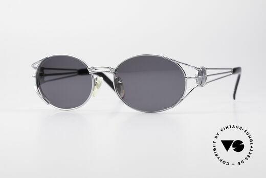 Jean Paul Gaultier 58-5106 Oval JPG Steampunk Shades Details