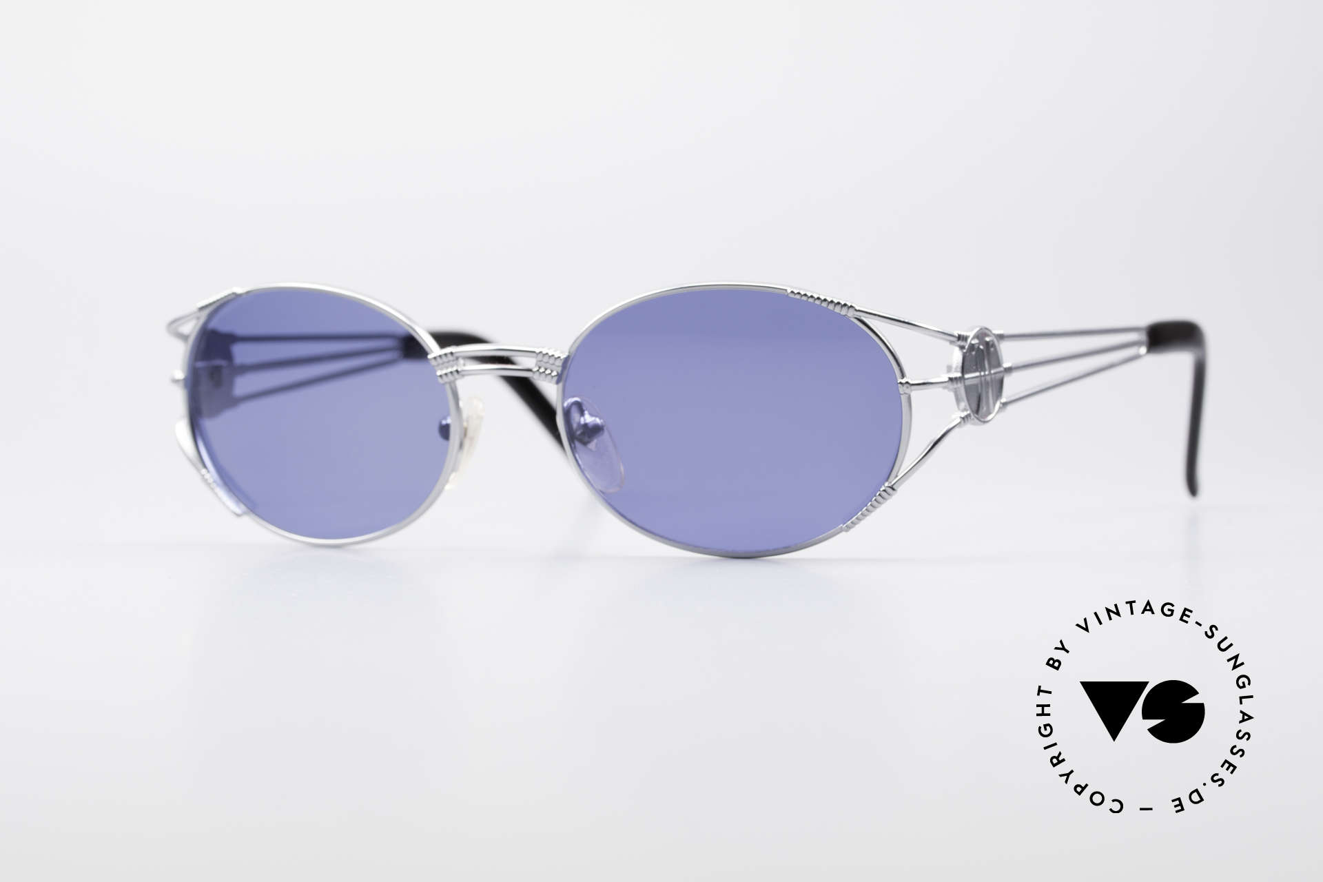 Jean Paul Gaultier 58-5106 JPG Oval Steampunk Shades, valuable and creative Jean Paul Gaultier design, Made for Men and Women