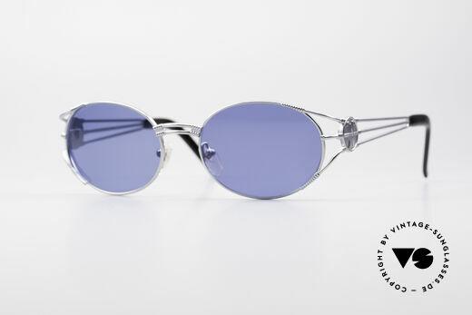 Jean Paul Gaultier 58-5106 JPG Oval Steampunk Shades Details