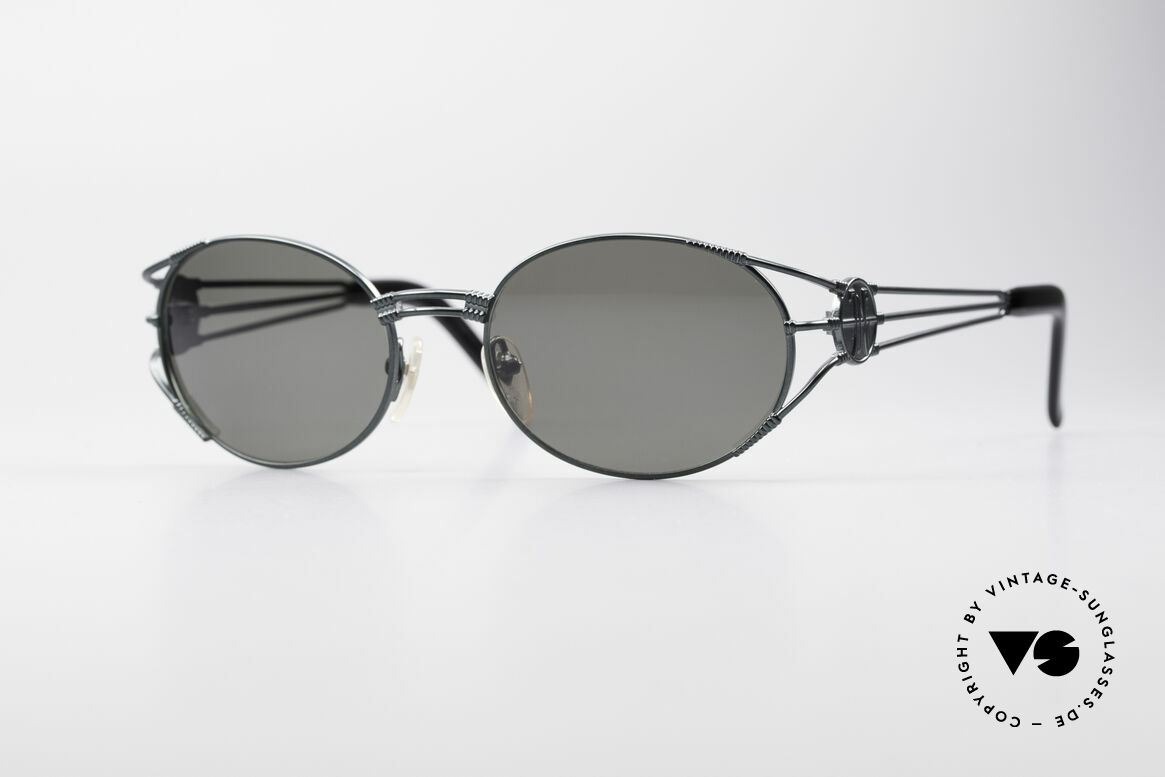 Jean Paul Gaultier 58-5106 Vintage Shades Steampunk, valuable and creative Jean Paul GAULTIER design, Made for Men and Women