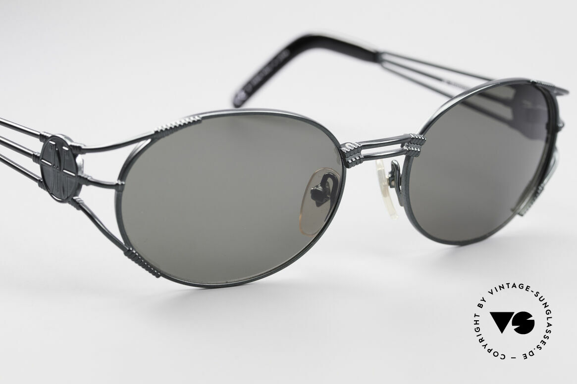 Jean Paul Gaultier 58-5106 Vintage Shades Steampunk, NO RETRO sunglasses, but a 20 years old original, Made for Men and Women