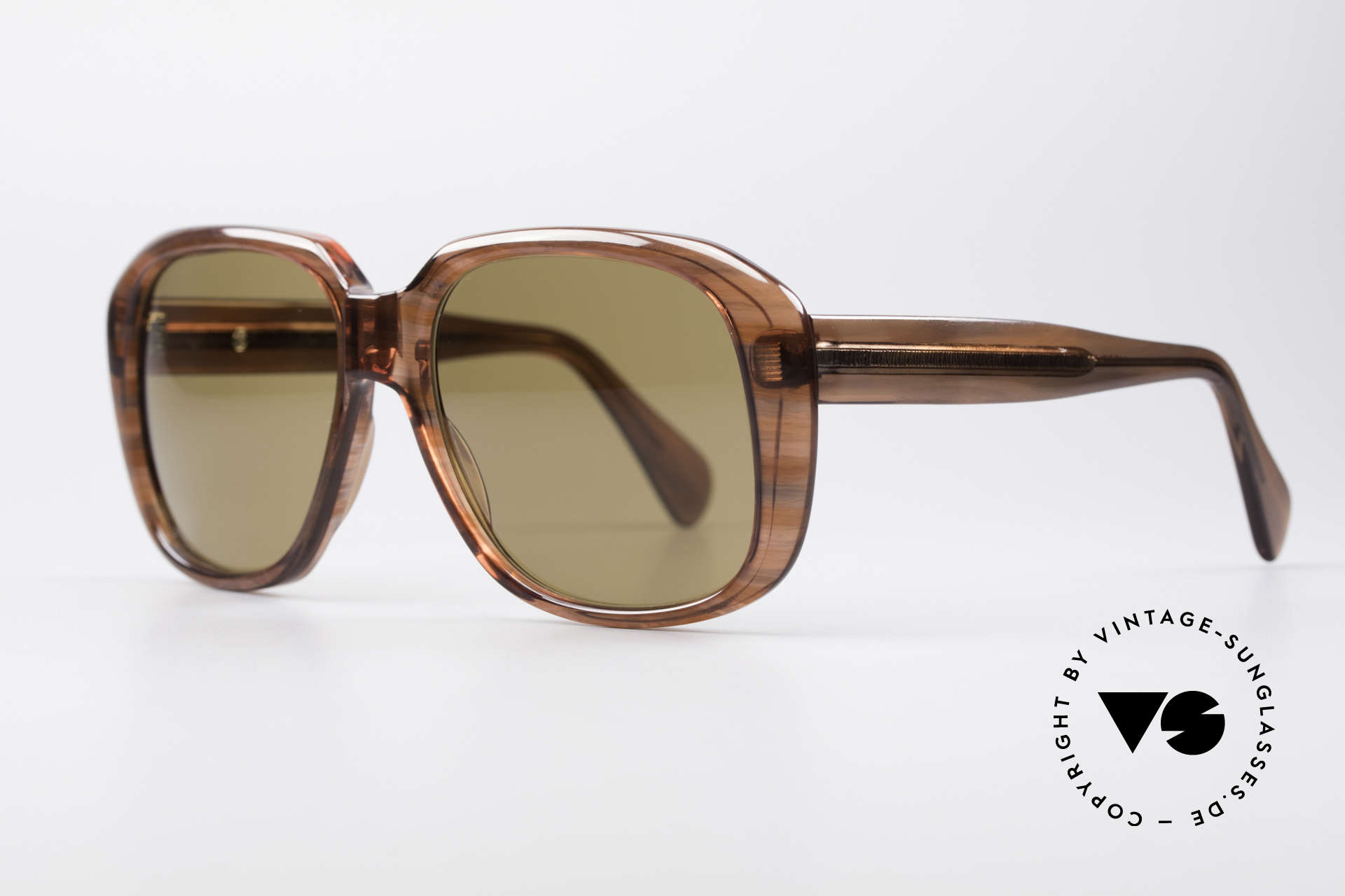 Metzler 2070 Old School 70's Shades, with ZEISS UMBRAL mineral lenses (scratch-resistant), Made for Men