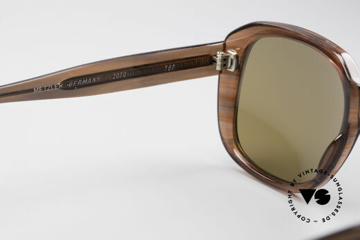 Metzler 2070 Old School 70's Shades, NO RETRO FRAME, but a LARGE 40 years old ORIGINAL, Made for Men