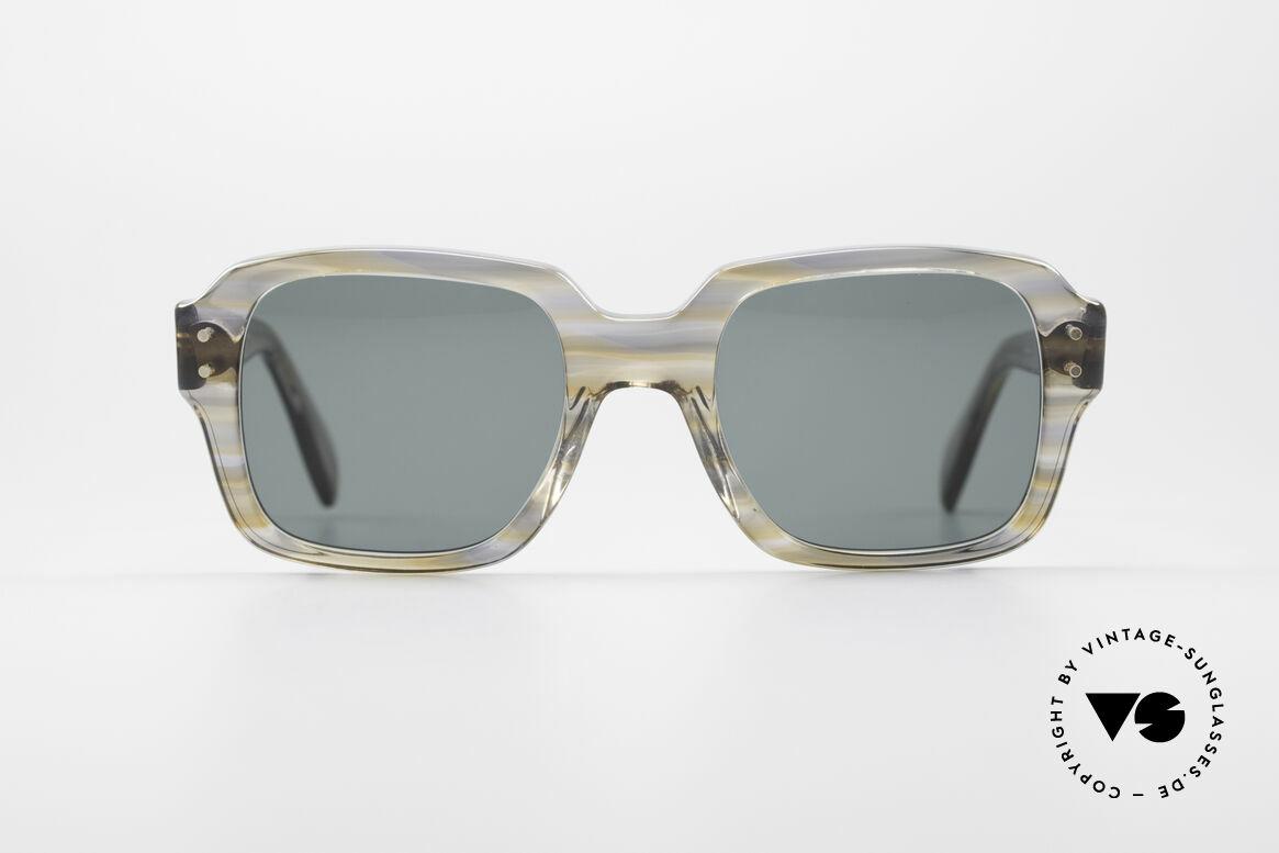 Metzler 448 Small 70's Sunglasses