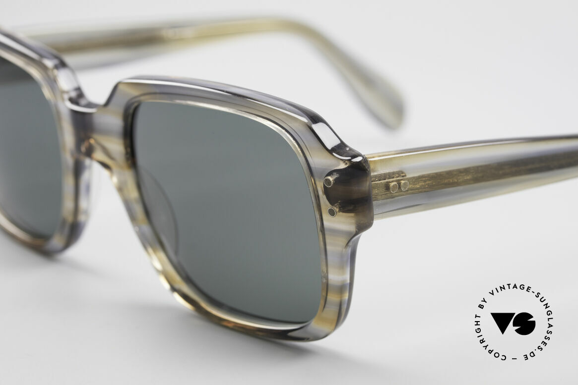 Metzler 448 Small 70's Sunglasses, gray-brownish coloring (characteristical for the 1970's), Made for Men