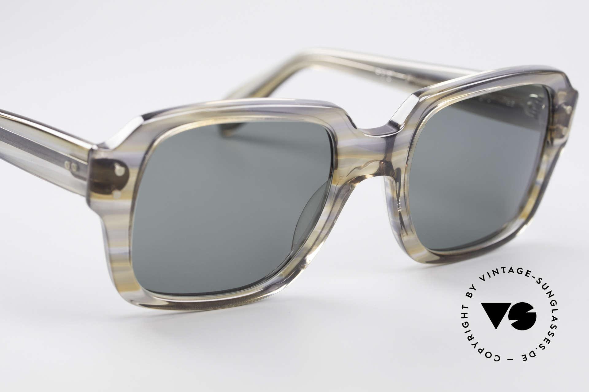 Metzler 448 Small 70's Sunglasses, never worn (like all our vintage METZLER nerd glasses), Made for Men