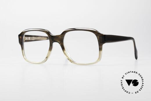 Metzler 4275 70's Original Nerd Glasses Details
