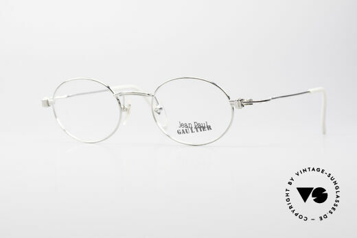 Jean Paul Gaultier 55-6105 Oval Vintage Eyeglasses Details