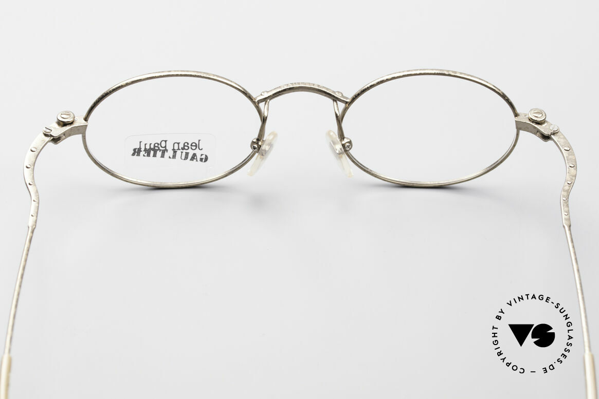Jean Paul Gaultier 55-6105 Oval Vintage Eyeglass-Frame, NO retro fashion;  a 20 years old rarity; true vintage!, Made for Men and Women