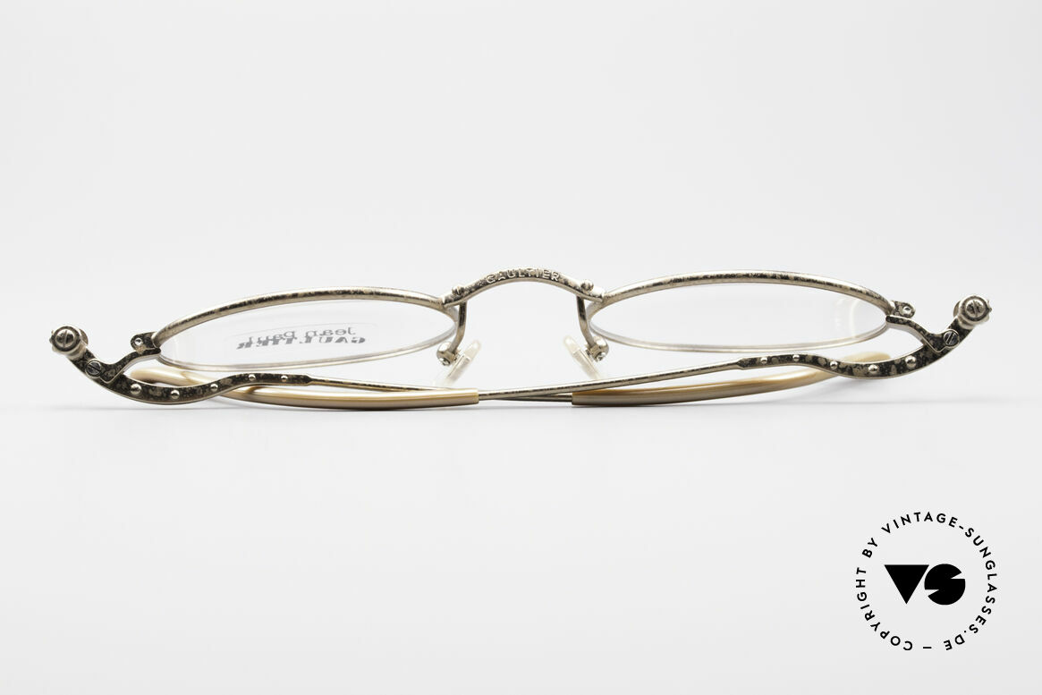 Jean Paul Gaultier 55-6105 Oval Vintage Eyeglass-Frame