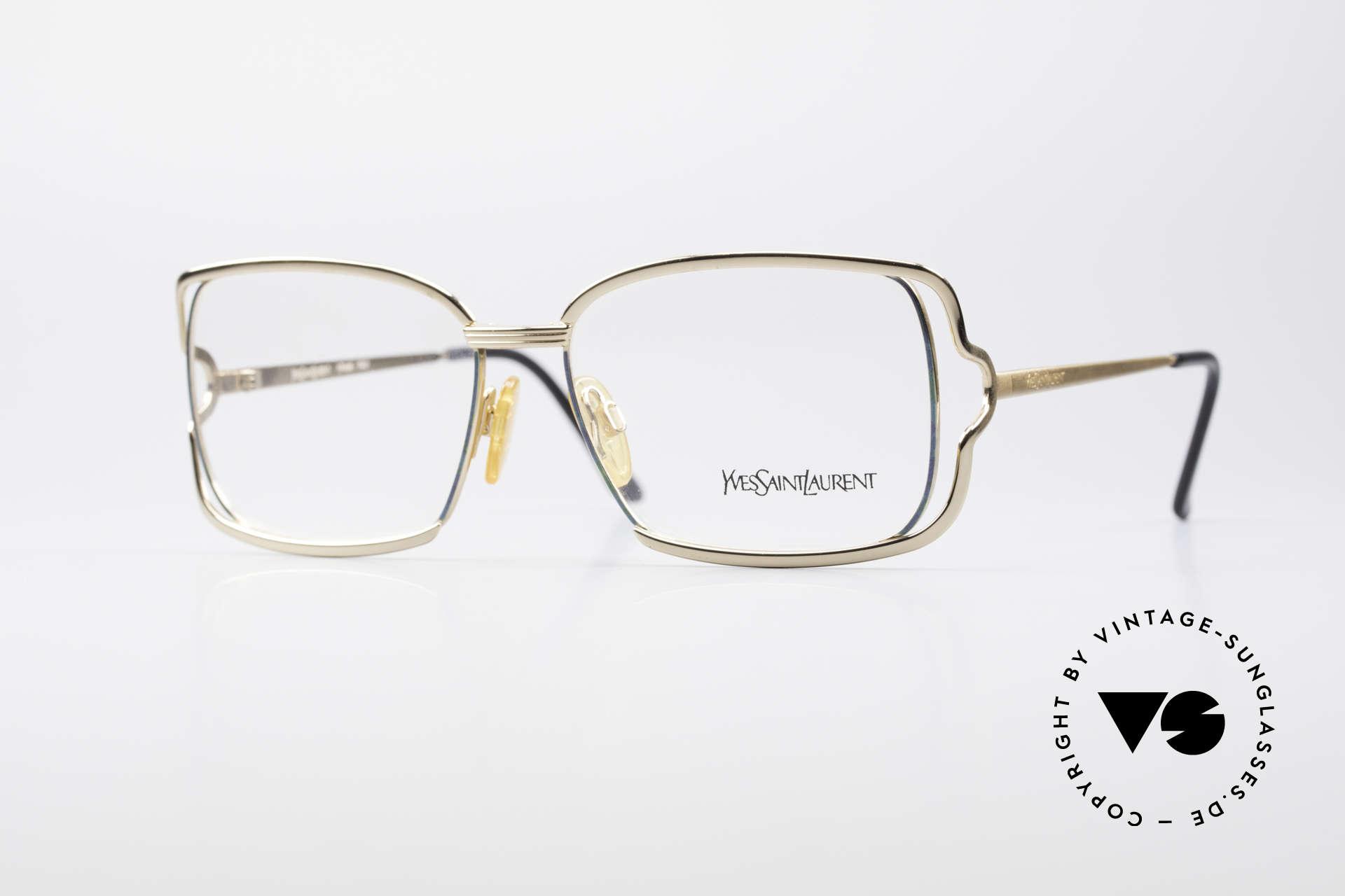 Yves Saint Laurent 4046 Vintage Ladies Eyeglasses, extravagant vintage eyeglass-frame for ladies, Made for Women
