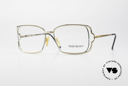 Yves Saint Laurent 4046 Vintage Ladies Eyeglasses Details