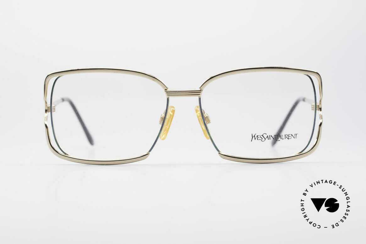 Yves Saint Laurent 4046 Vintage Ladies Eyeglasses, by the famous style icon: Yves Saint LAURENT, Made for Women