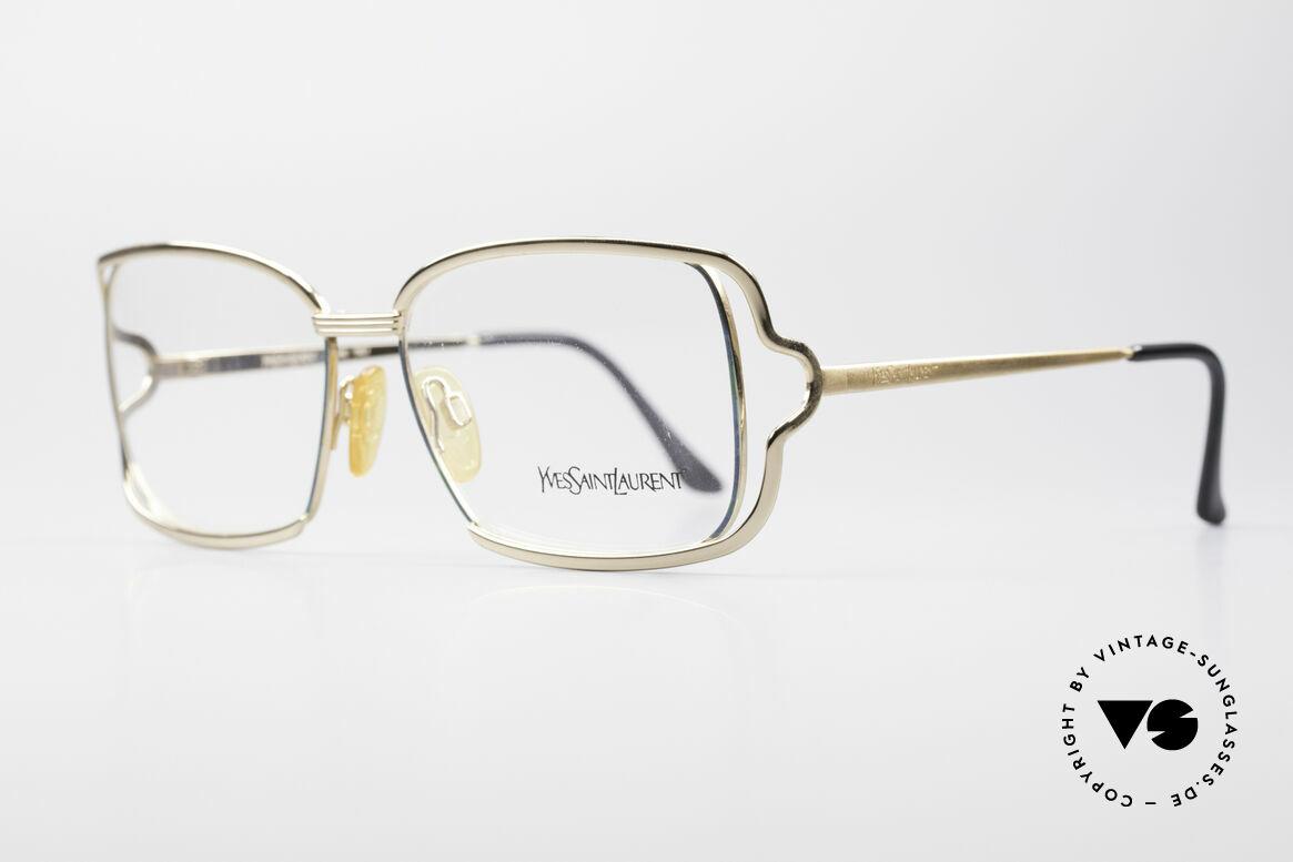 Yves Saint Laurent 4046 Vintage Ladies Eyeglasses, simply a glamorous designer frame; eye-catcher, Made for Women