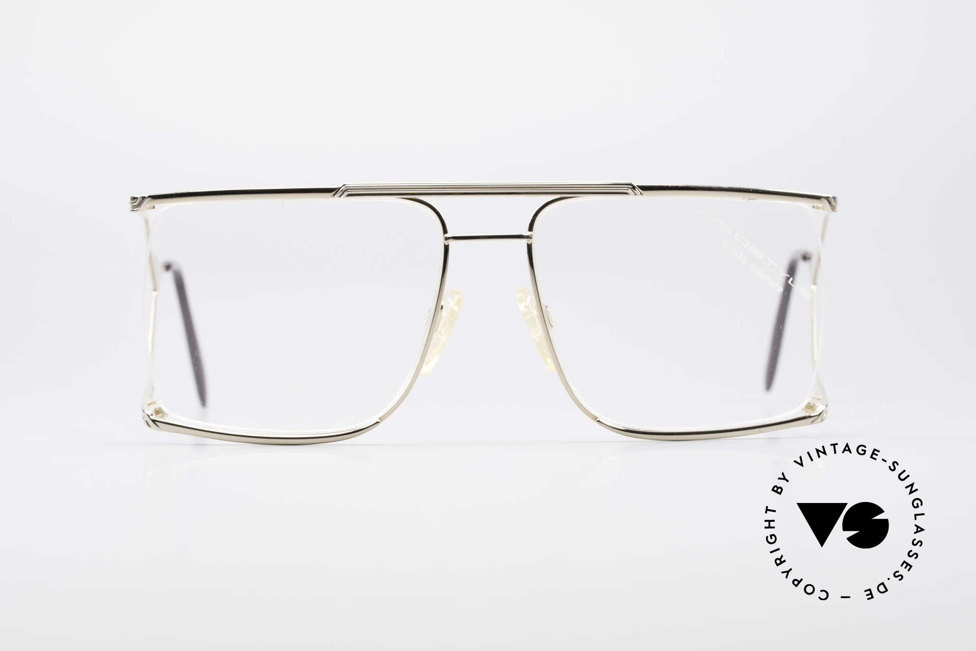 Neostyle Nautic 6 80's Miami Vice Eyeglasses, flashy design with double temples; true eye-catcher, Made for Men