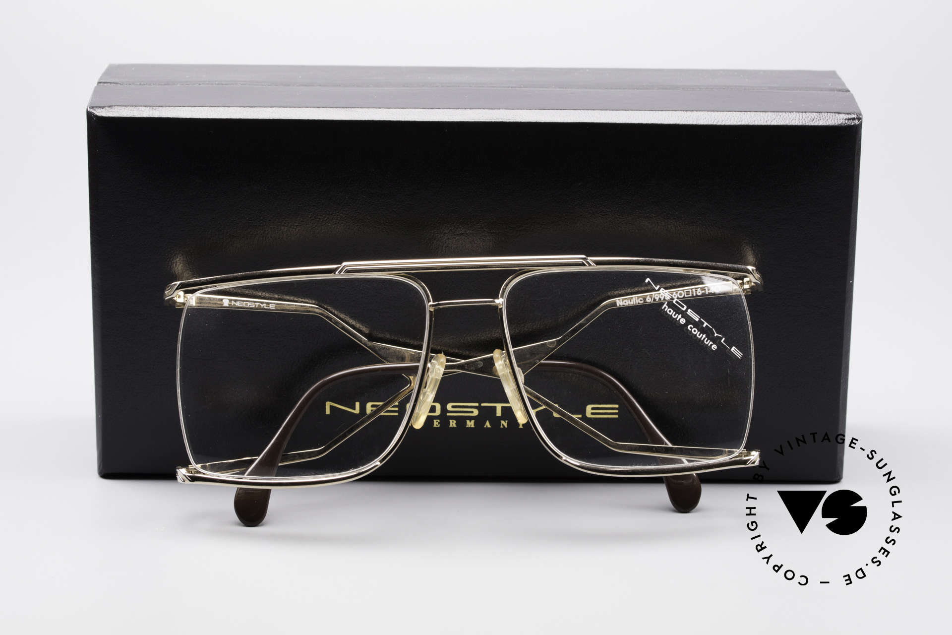 Neostyle Nautic 6 80's Miami Vice Eyeglasses, unworn (incl. original Neostyle box), collector's item, Made for Men