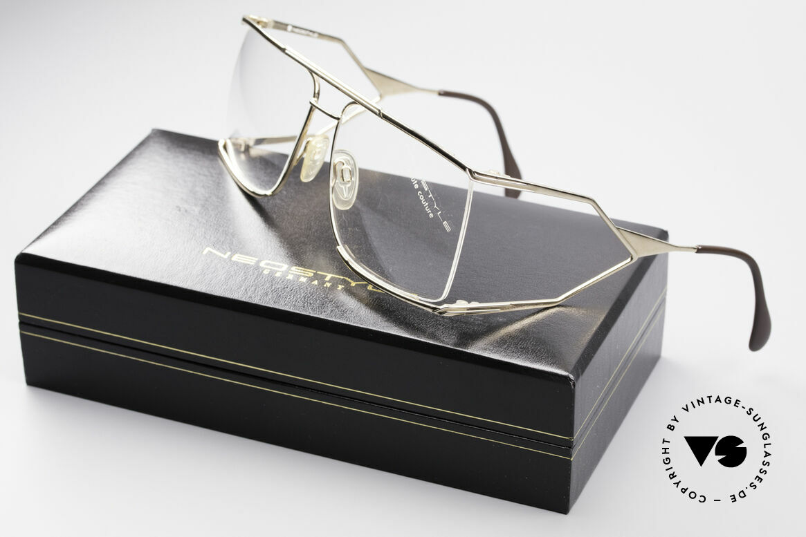 Neostyle Nautic 6 80's Miami Vice Eyeglasses, demo lenses should be replaced with optical lenses, Made for Men