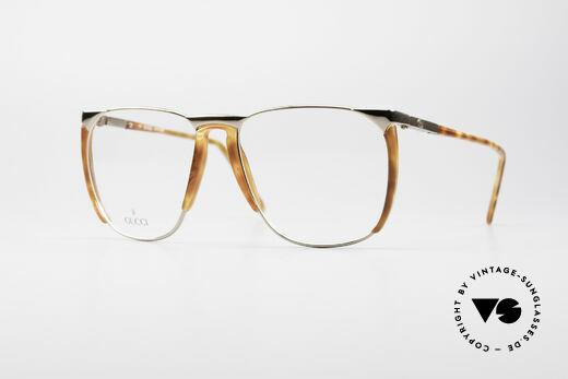 Gucci 1301 80's Designer Eyeglasses Details