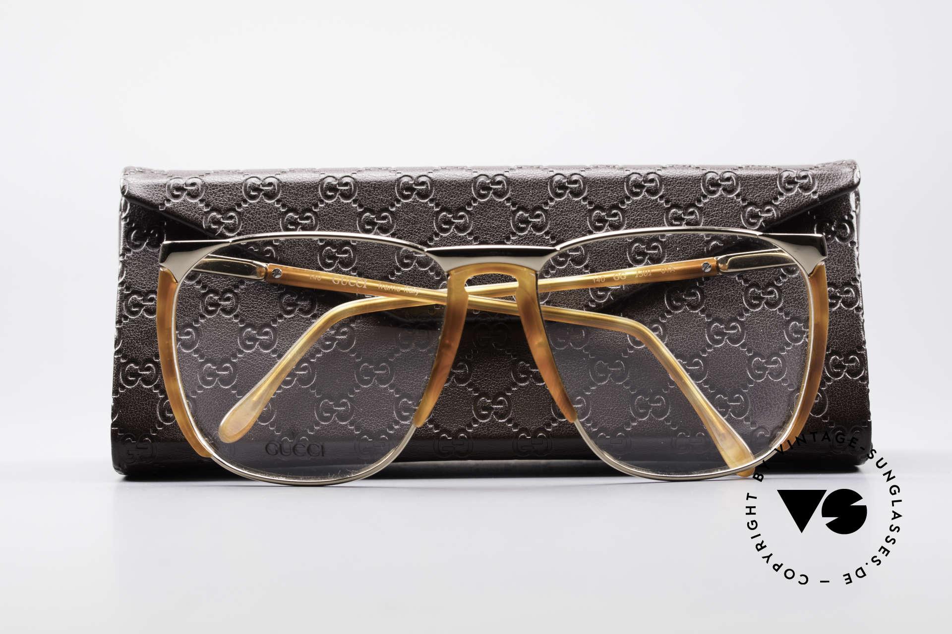 b1b7a21cc6 Glasses Gucci 1301 80 s Designer Eyeglasses